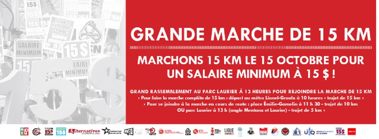 GRANDE MARCHE DE 15 KM
