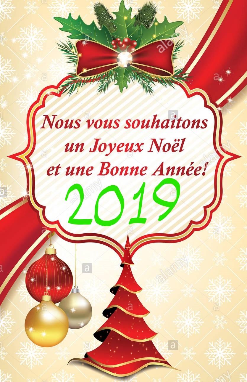 Joyeux temps des Fêtes et une Bonne Année 2019