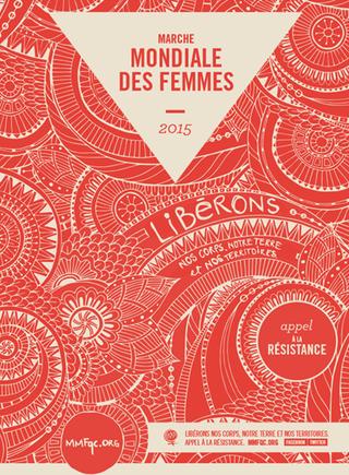 4e MARCHE MONDIALE DES FEMMES 2015  –  17 octobre à Trois-Rivières